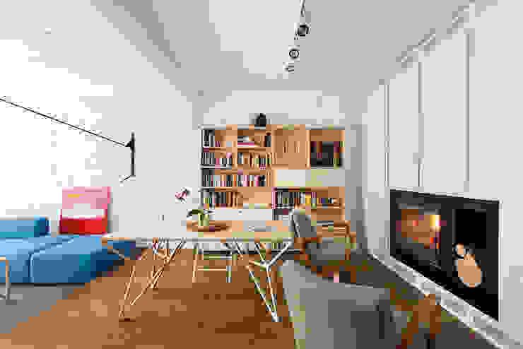 Apartment v01 Modern living room by dontDIY Modern
