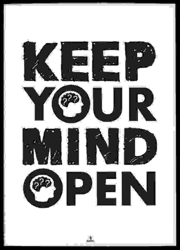 KEEP YOUR MIND OPEN od MSP Sp. z o.o. Minimalistyczny