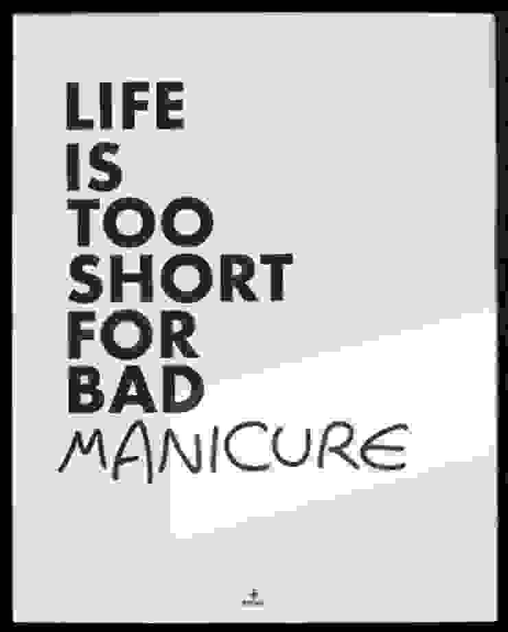 LIFE IS TO SHORT od MSP Sp. z o.o. Minimalistyczny