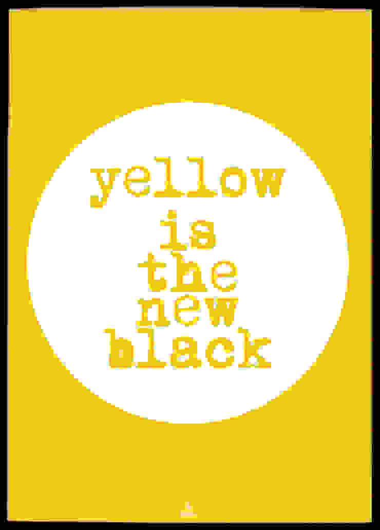 YELLOW IS A NEW BLACK od MSP Sp. z o.o. Minimalistyczny