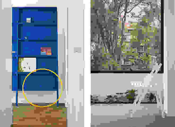 Apartment v01 Balcones y terrazas de estilo moderno de dontDIY Moderno