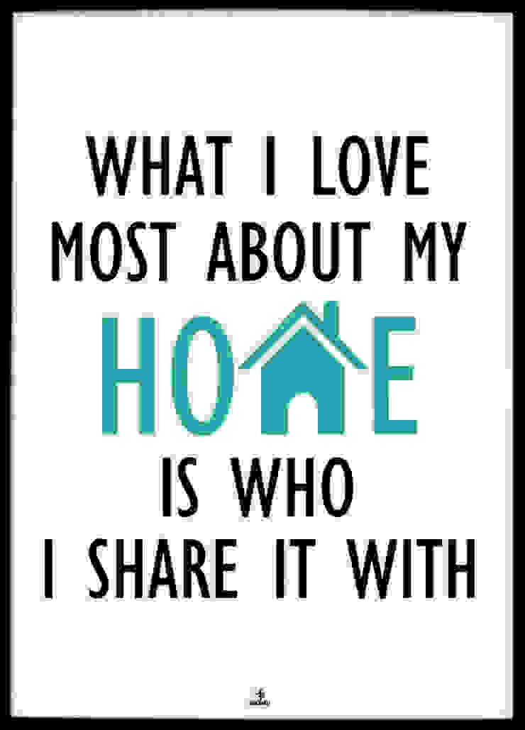 WHAT I LOVE ABOUT MY HOME od MSP Sp. z o.o. Minimalistyczny