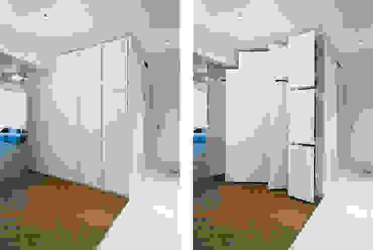Apartment v01 Cuartos de estilo moderno de dontDIY Moderno