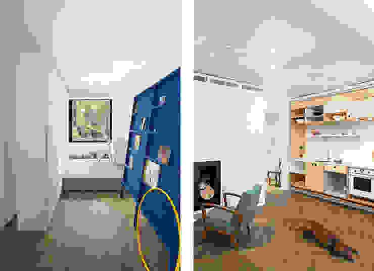 Apartment v01 Salas de estilo moderno de dontDIY Moderno