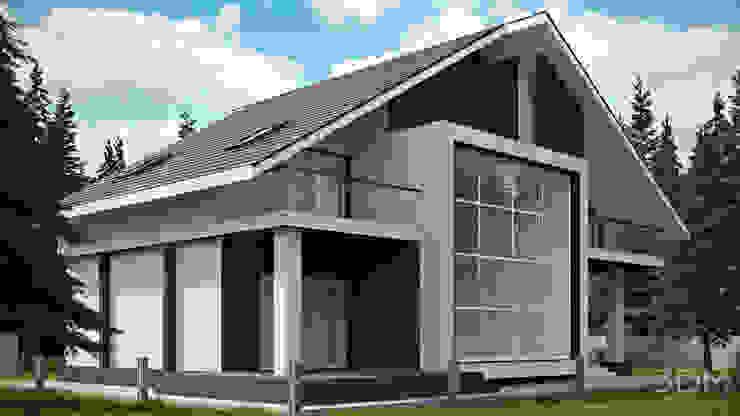 01 Дома в стиле минимализм от студия визуализации и дизайна интерьера '3dm2' Минимализм