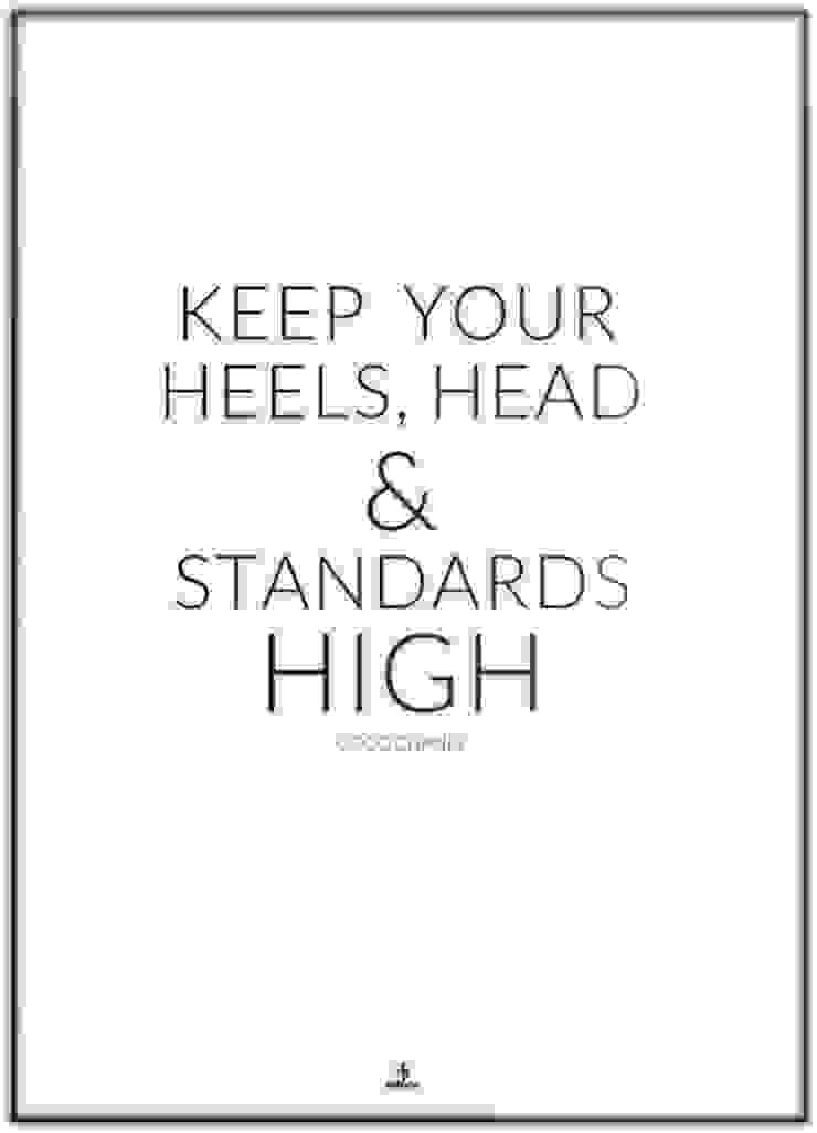 KEEP YOUR STANDARDS HIGH od MSP Sp. z o.o. Minimalistyczny