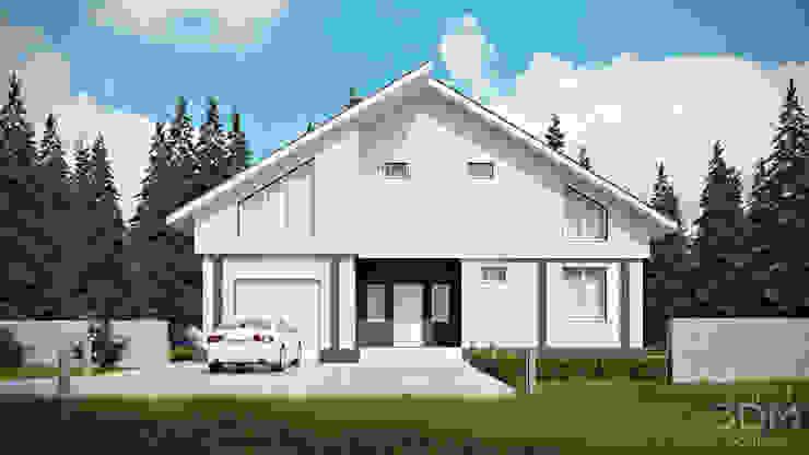 04 Дома в стиле минимализм от студия визуализации и дизайна интерьера '3dm2' Минимализм