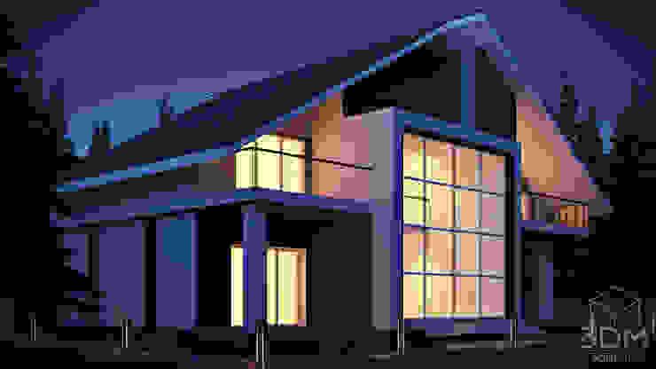 06 Дома в стиле минимализм от студия визуализации и дизайна интерьера '3dm2' Минимализм