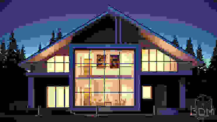 08 Дома в стиле минимализм от студия визуализации и дизайна интерьера '3dm2' Минимализм