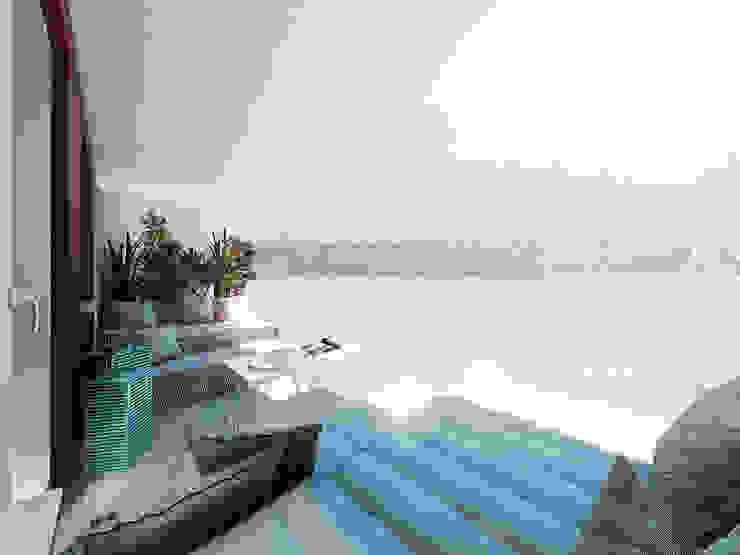 Balcones y terrazas modernos de HUK atelier Moderno