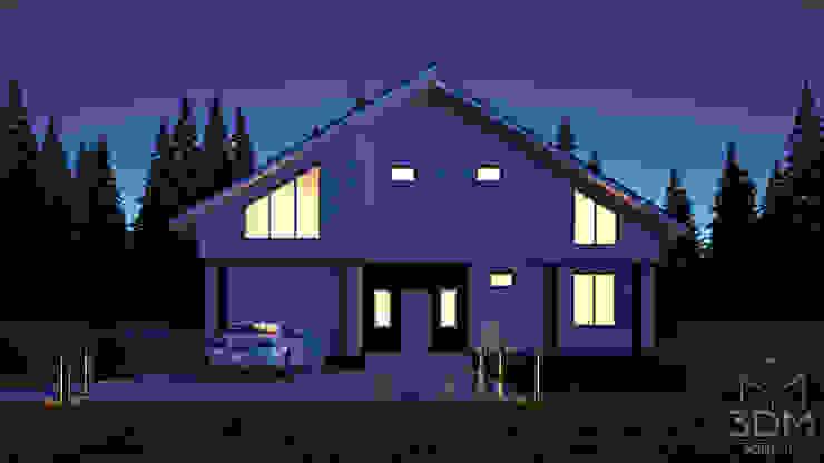 09 Дома в стиле минимализм от студия визуализации и дизайна интерьера '3dm2' Минимализм