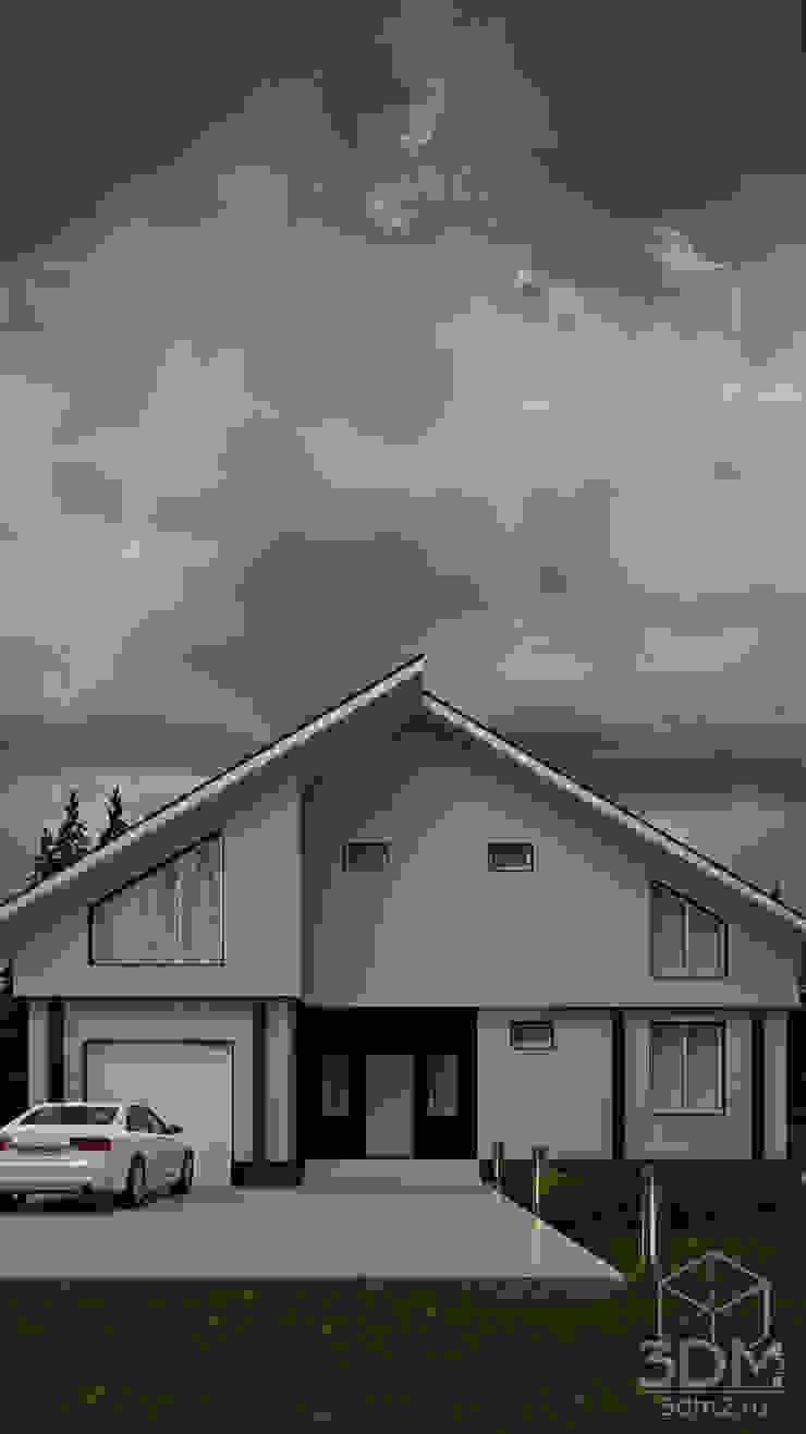 15 Дома в стиле минимализм от студия визуализации и дизайна интерьера '3dm2' Минимализм