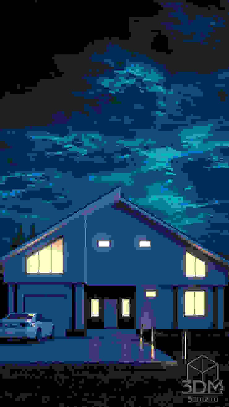 16 Дома в стиле минимализм от студия визуализации и дизайна интерьера '3dm2' Минимализм