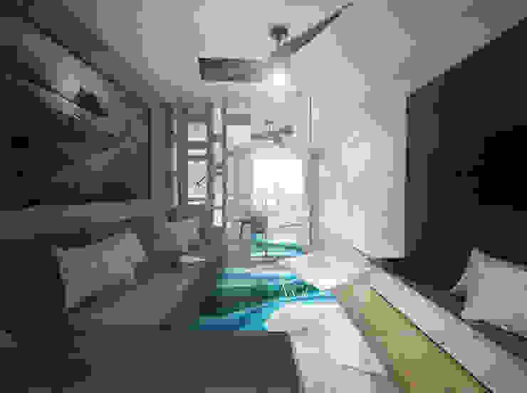 Livings de estilo moderno de HUK atelier Moderno