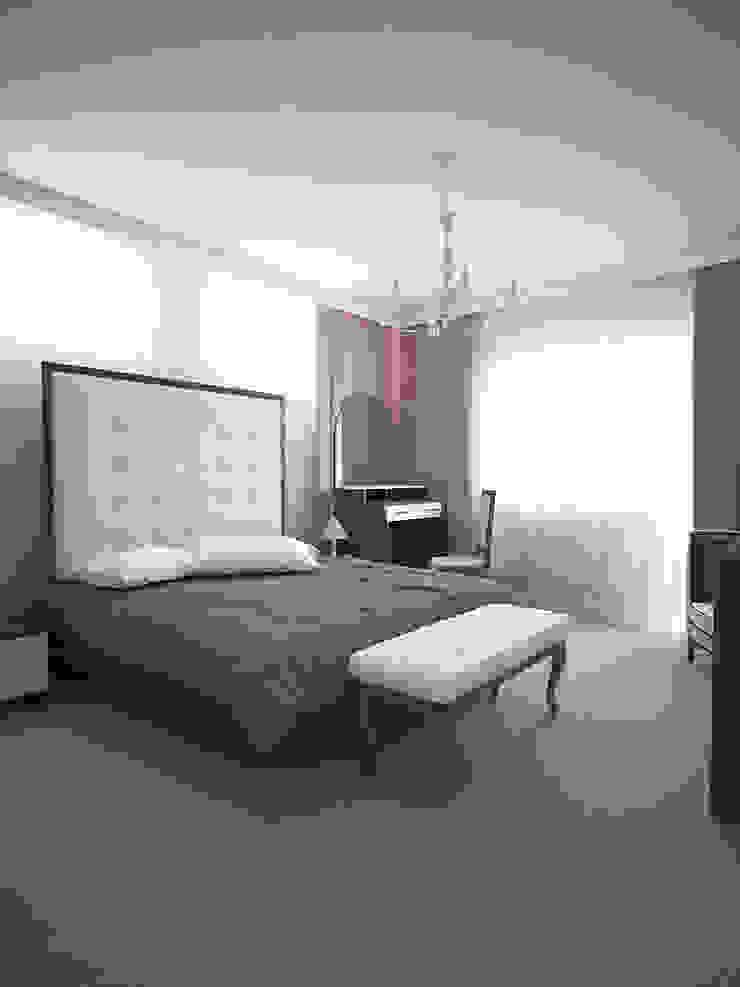 Семейный дом Спальня в классическом стиле от Дизайн студия Александра Скирды ВЕРСАЛЬПРОЕКТ Классический