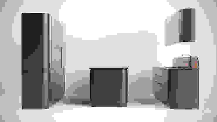13 от студия визуализации и дизайна интерьера '3dm2' Минимализм
