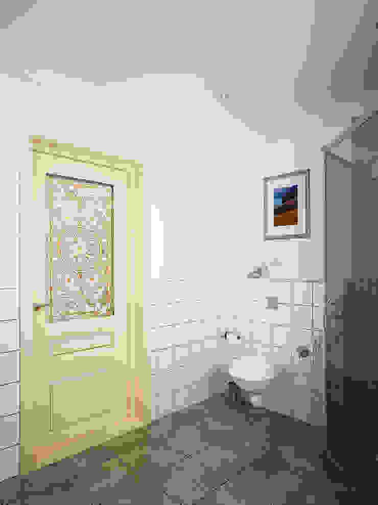 Семейный дом Ванная в классическом стиле от Дизайн студия Александра Скирды ВЕРСАЛЬПРОЕКТ Классический
