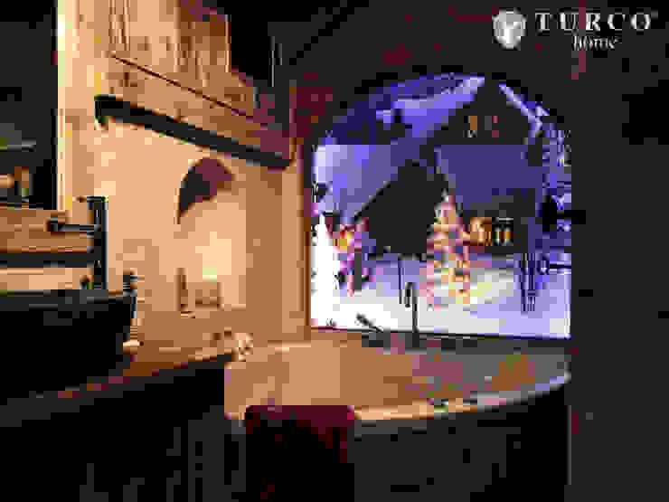 Rustykalna łazienka od turco home srl Rustykalny