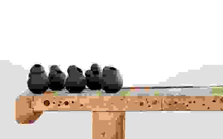 Part #4 - Vase black van Fou de Feu Scandinavisch
