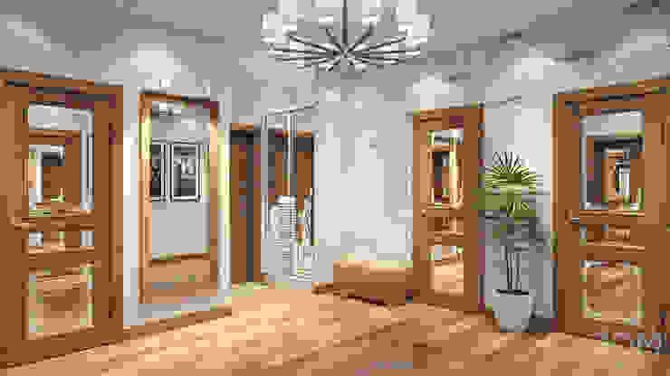 12 Коридор, прихожая и лестница в стиле минимализм от студия визуализации и дизайна интерьера '3dm2' Минимализм