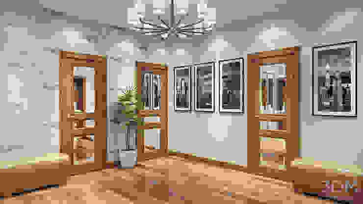 13 Коридор, прихожая и лестница в стиле минимализм от студия визуализации и дизайна интерьера '3dm2' Минимализм