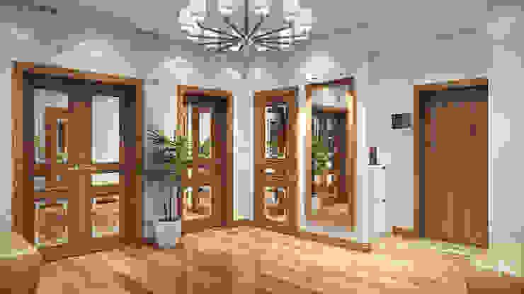 14 Коридор, прихожая и лестница в стиле минимализм от студия визуализации и дизайна интерьера '3dm2' Минимализм