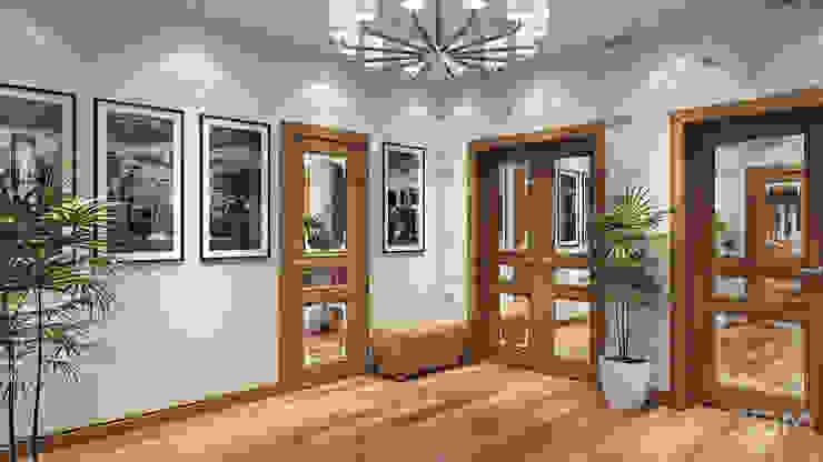 15 Коридор, прихожая и лестница в стиле минимализм от студия визуализации и дизайна интерьера '3dm2' Минимализм