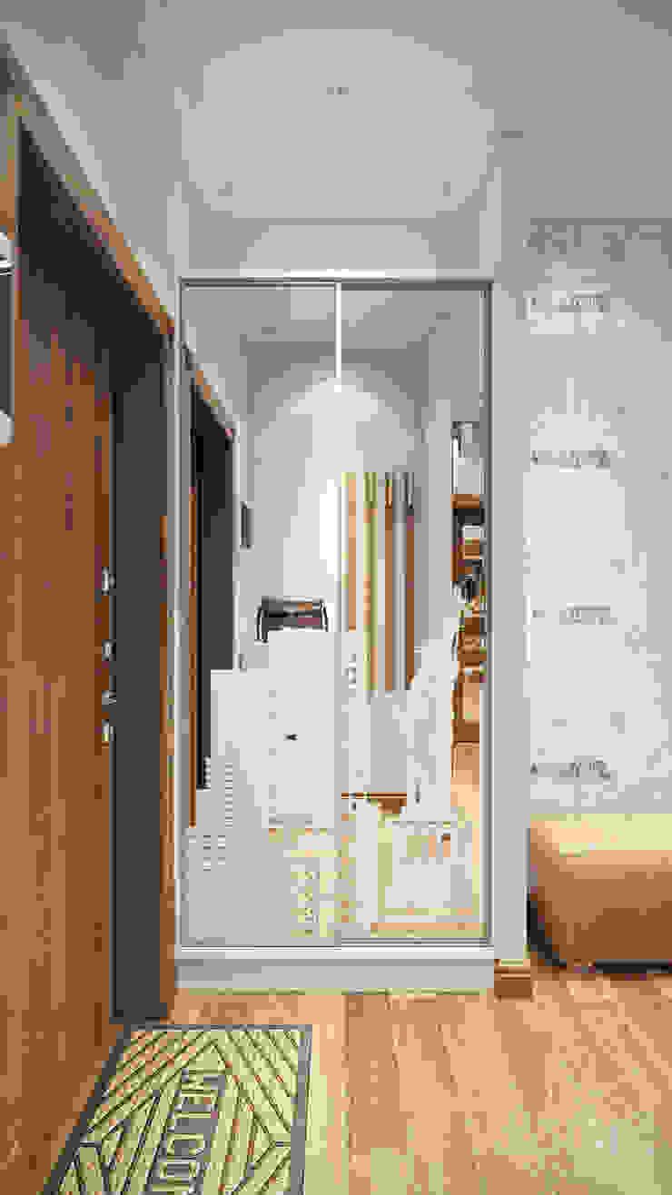 16 Коридор, прихожая и лестница в стиле минимализм от студия визуализации и дизайна интерьера '3dm2' Минимализм