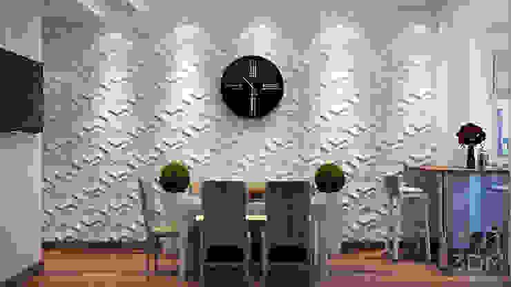 20 Кухня в стиле минимализм от студия визуализации и дизайна интерьера '3dm2' Минимализм