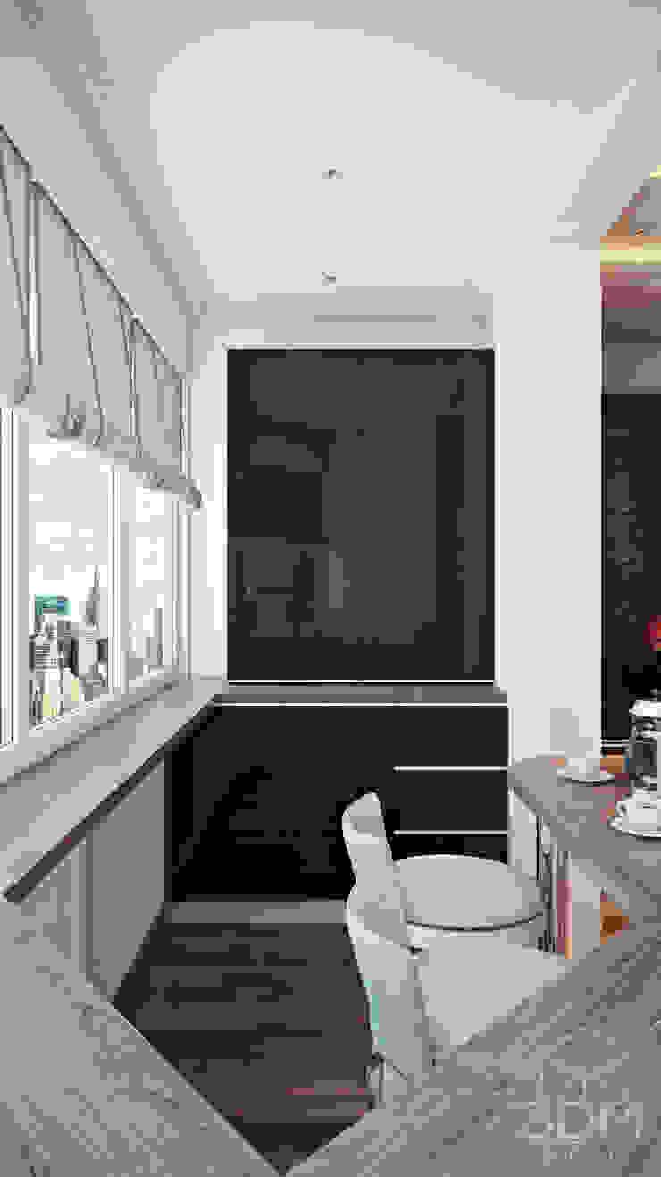 22 Кухня в стиле минимализм от студия визуализации и дизайна интерьера '3dm2' Минимализм