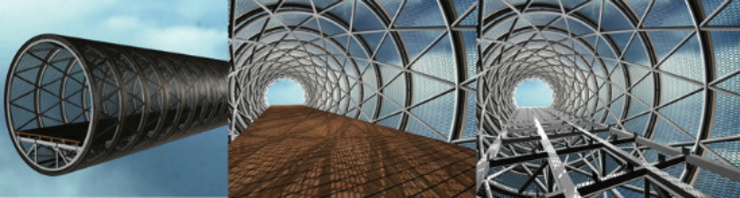 Heyri Artvalley Bridge No.5(The Bridge 'Territory-界') by Shade Architecture & Design Studio