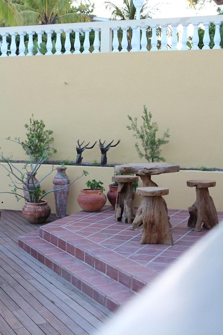 Alex Janmaat Interieurs & Kunst Balcones y terrazas rurales