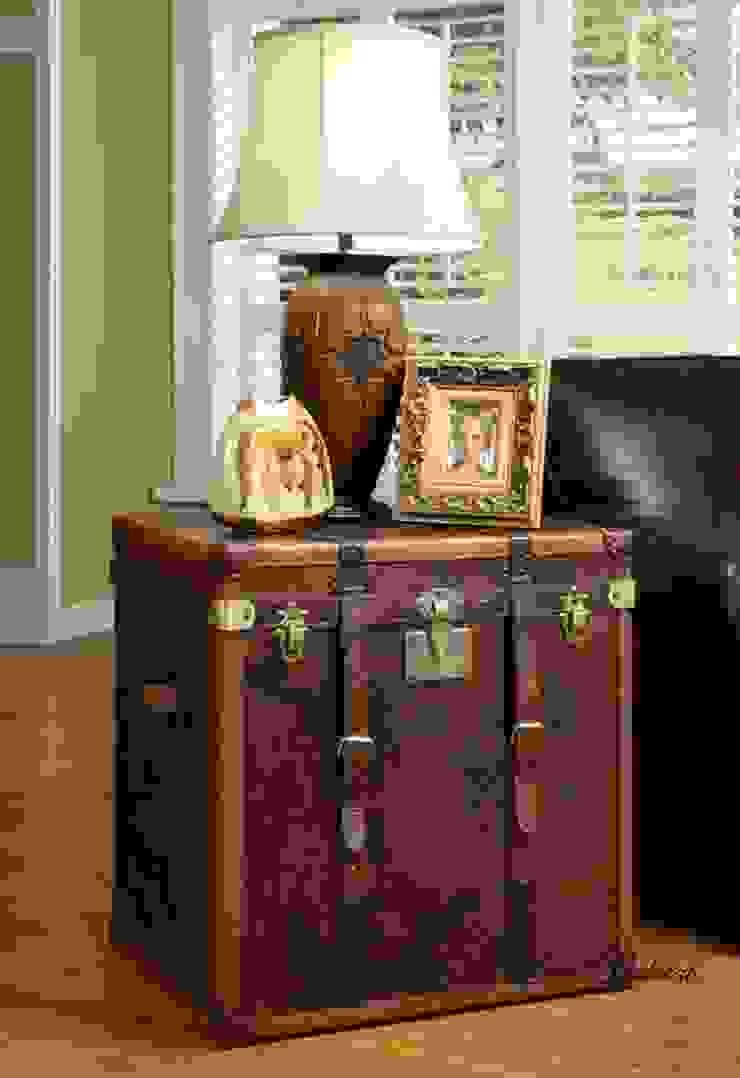 Classic Leather Storage Trunk: classic  by Locus Habitat,Classic