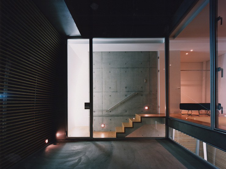 courtyard の 平沼孝啓建築研究所 (Kohki Hiranuma Architect & Associates)