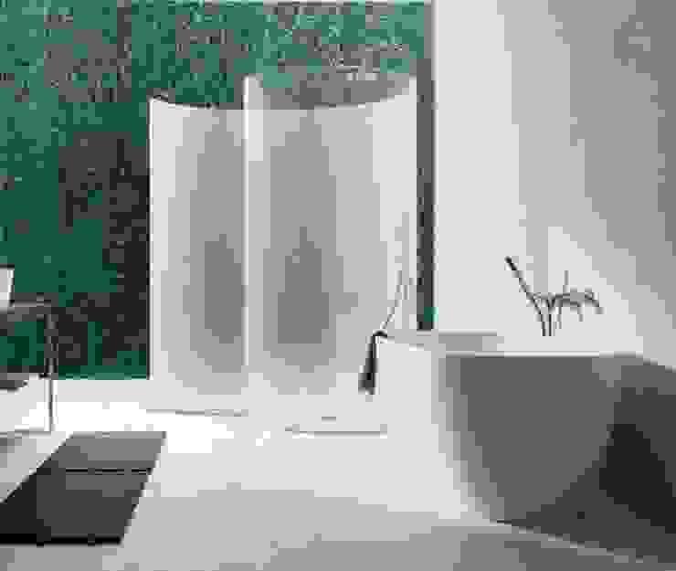 Bagno con dicondra verticale utilizzanzo il sistema Argentino Bagno eclettico di Dotto Francesco consulting Green Eclettico