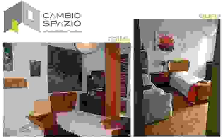 Nuova disposizione camera degli ospiti di CAMBIOSPAZIO Classico