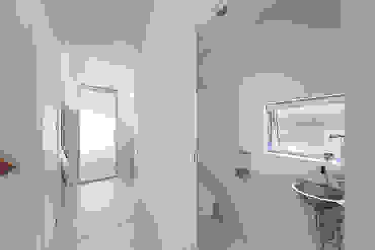 Zig Zag WC モダンスタイルの お風呂 の キリコ設計事務所 モダン