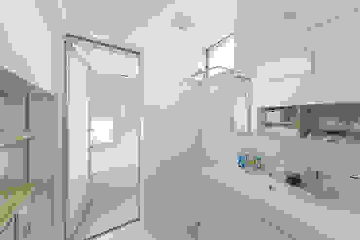 Zig Zag 洗面室 モダンスタイルの お風呂 の キリコ設計事務所 モダン