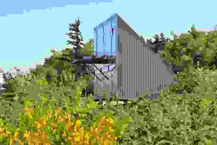 Maison triangle barres-coquet architectes Maisons industrielles