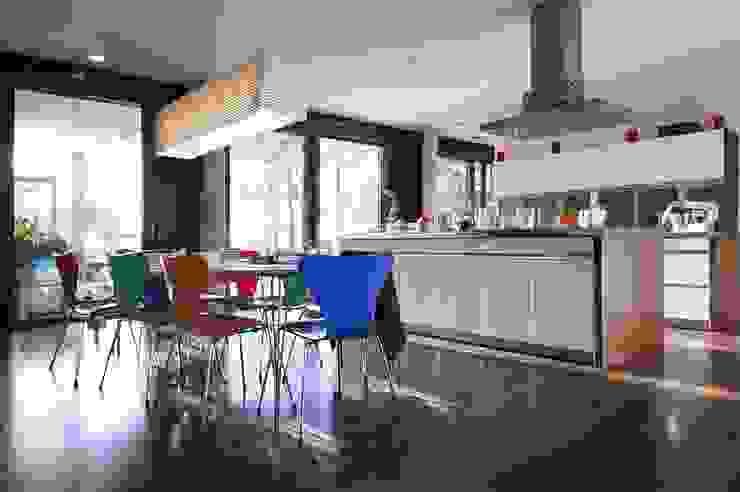 Cocinas de estilo  por Architekten Lenzstrasse Dreizehn, Moderno