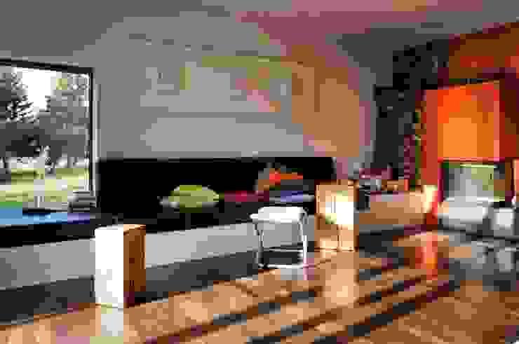 Salas de estilo  por Architekten Lenzstrasse Dreizehn, Moderno