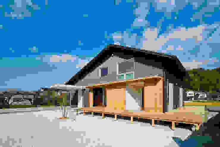 トトロ 外観 日本家屋・アジアの家 の キリコ設計事務所 和風