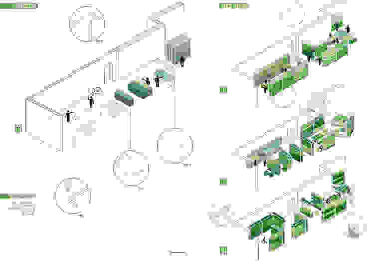 """CONCORSO """"LE SALE DELLA COOPERAZIONE""""_2013 di MirraToscano Architetti Moderno"""