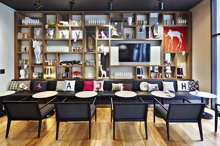 Eclectic style hotels by EGGER Wood-based materials Eclectic