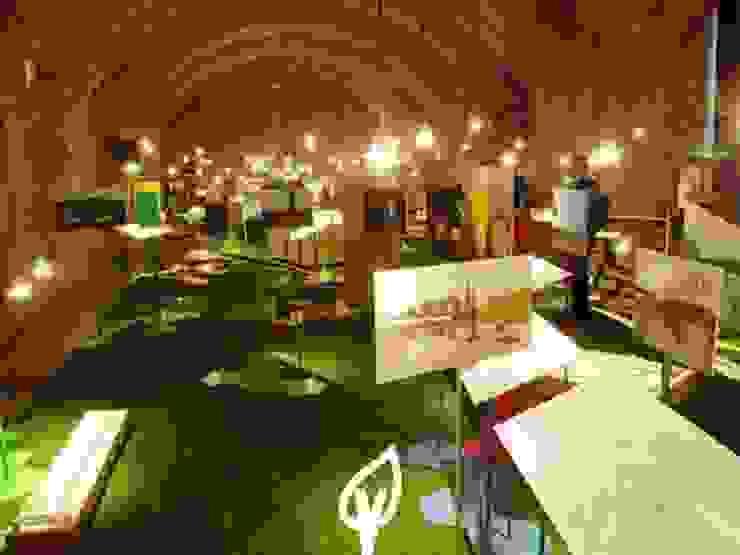 cesped de interior Museos de estilo moderno de Verdalia Moderno
