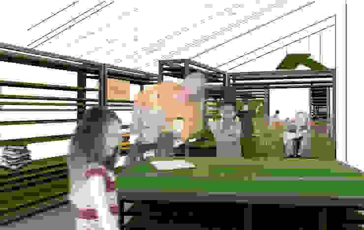 CONCORSO <q>LE SALE DELLA COOPERAZIONE</q>_2013 di MirraToscano Architetti Moderno