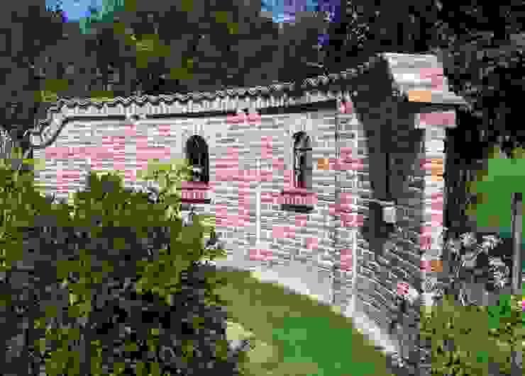 Śródziemnomorski ogród od Rimini Baustoffe GmbH Śródziemnomorski