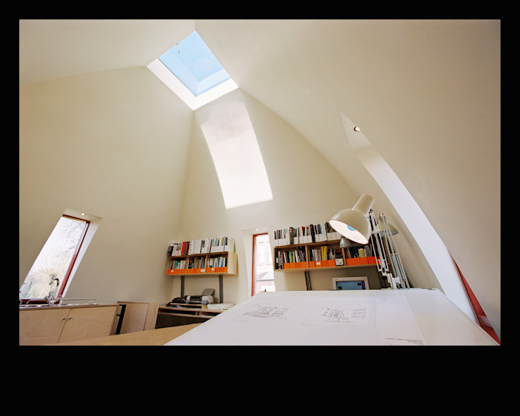 Mill Street Studio Modern study/office by Adrian James Architects Modern