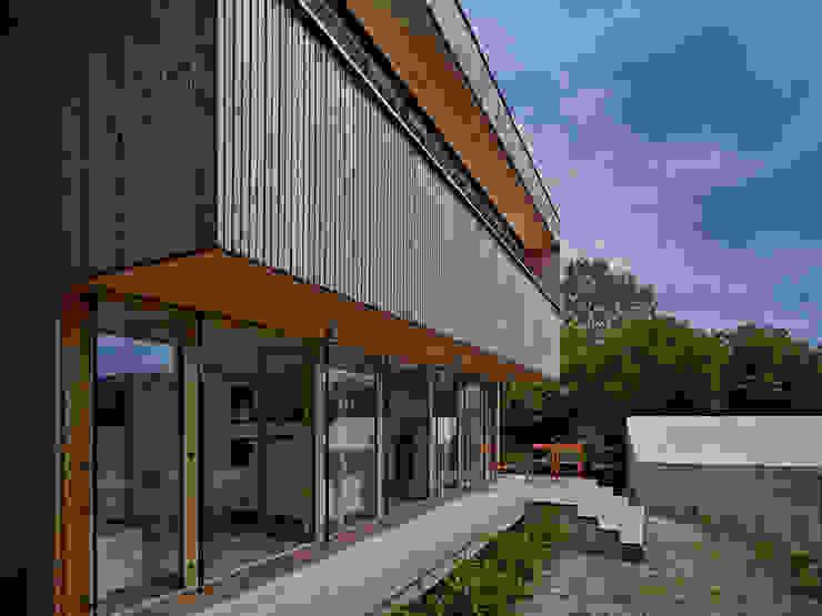 Construction d'une maison individuelle Mur Ossature Bois, Altkirch Maisons classiques par LPAA Classique