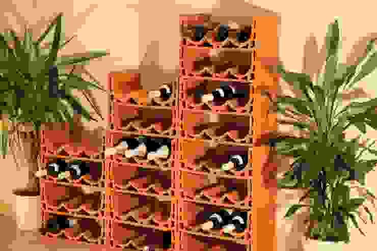 Bodegas de vino de estilo mediterráneo de Rimini Baustoffe GmbH Mediterráneo